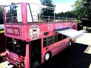 Doppeldeckerbus Imbiss Foodtruck Gastronomie Anhänger