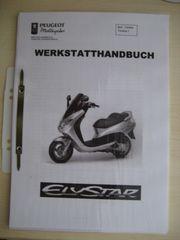 Werkstatthandbuch Handbuch für Peugeot Elystar
