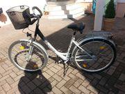 Fischer Alu Fahrrad silber 7