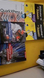 Diverse Bücher Adobe