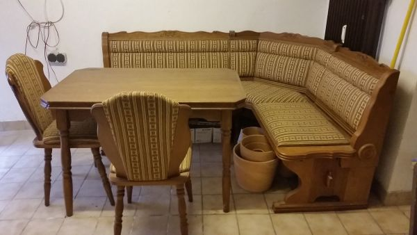eckbank massivholz gebraucht kaufen nur 2 st bis 60 g nstiger. Black Bedroom Furniture Sets. Home Design Ideas