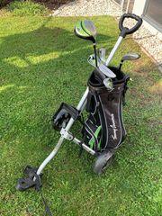 Kinder Golfset mit Trolley