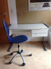 Schreibtisch Moll Drehstuhl - weiß - mitwachsend