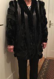 Damenpelzmantel schwarz Gr 44