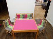 Kinder Holztisch+Holzstühle+