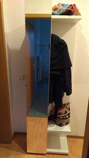Garderobenpaneel CORANO in weiß mit