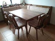 Eßecke Tisch Eckbank und 3