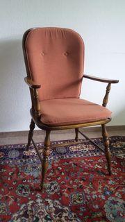 stuhl holz polster gebraucht kaufen 4 st bis 75 g nstiger. Black Bedroom Furniture Sets. Home Design Ideas