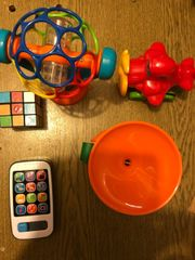 Verschiedene Kinderspielsachen