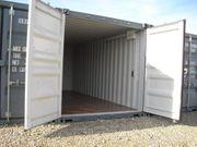 Lager-Garage-Container-Archiv Miniwerkstatt mit Licht und