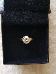 Zwei Diamanten Ringe 18k und