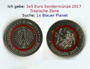Tausche 5 Euro-Sondermünze 2017 oder