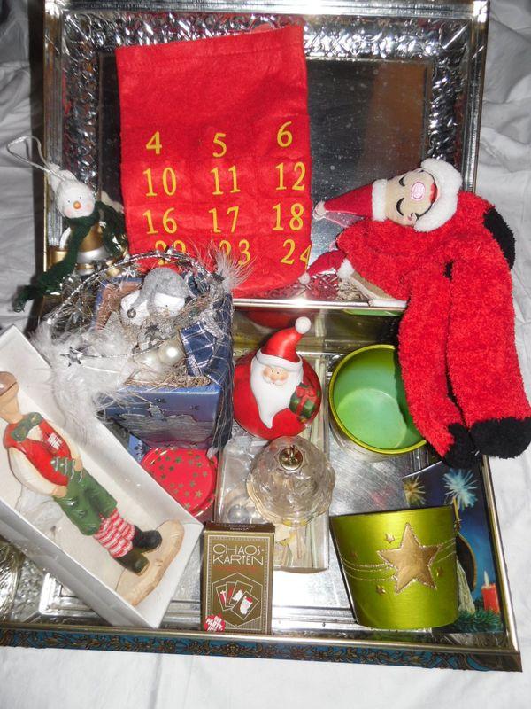 weihnachtsdeko gebraucht kaufen nur 3 st bis 60 g nstiger. Black Bedroom Furniture Sets. Home Design Ideas