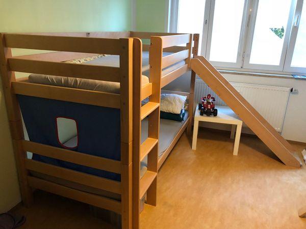 Etagenbett Kind Und Baby : Bett etagenbett hochbett mit rutsche in münchen kinder