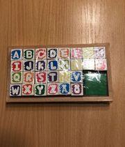 Buchstaben Stempelkissen
