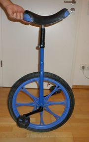 blaues Einrad nicht
