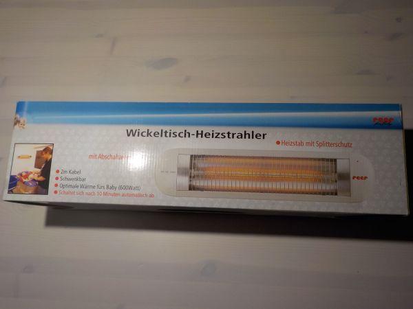 Heizstrahler für Wickeltisch » Wickeltische