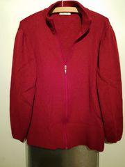 Strickjacke - Jacke - Rot - von Marco