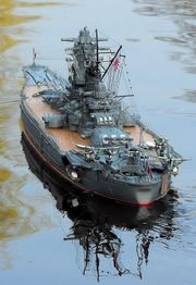Schlachtschiff YAMATO von GRAUPNER im