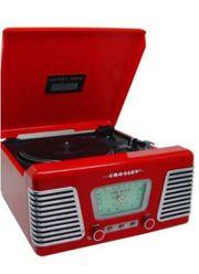 RetroStereo Plattenspieler Radio