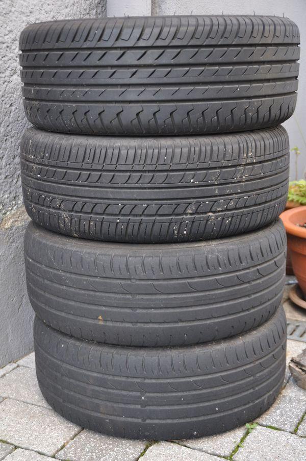 AUtoreifen von Ford Ka - Mannheim - 4x 195/50 R15, Stahlfelgen, für Ford Ka. Reifen auf Stahlfelgen 6Jx15H2 ET40FORD KA 4Reifen auf Stahlfelgenzwei sind abgefahren, zwei mit Profilzusammen für 40,-EUR. - Mannheim