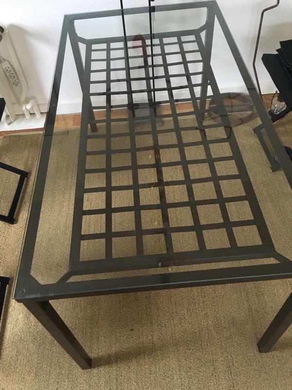 Ikea esszimmer tisch  IKEA Glastisch Esstisch in Laboe - Speisezimmer, Essecken kaufen und ...