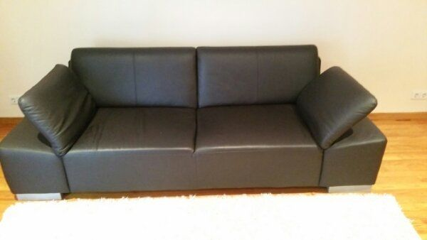 Leder Sofa Couch Farbe Mocca 1a Zustand In Neuwied Polster