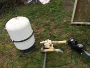 Sandfilter - Pumpe und Zubehör zum