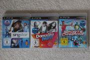PlayStation3 PS3 Spiele 3er Pack