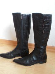 aufwändige Leder- Stiefel von Marc