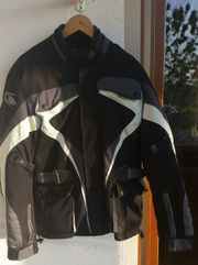 Motorradjacke Jacke Marke Spyke schwarz