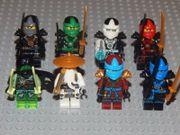 8 Minifiguren Ninjago