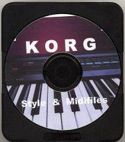 Korg Style & Midifiles