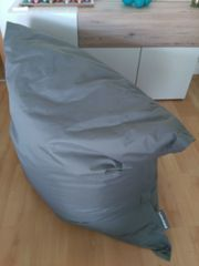 Lumaland Luxury Riesensitzsack XXL Grau -