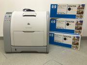 Genialer HP ColourLaserJet Drucker 3500
