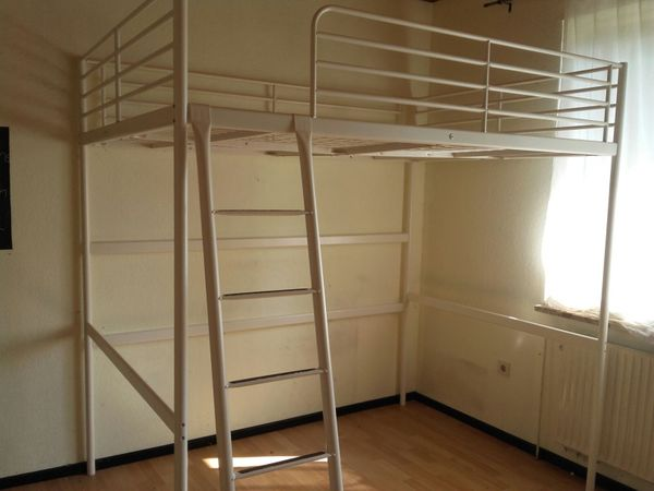Ikea Etagenbett Weiß Metall : Hochbett ikea günstig gebraucht kaufen verkaufen