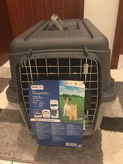 Schnäppchen Hundetransportbox nur einmal kurz