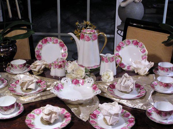 edles museales kaffeeservice rosenthal c cilie chrysantheme selten 12 personen in bochum. Black Bedroom Furniture Sets. Home Design Ideas
