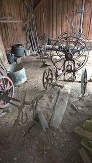 Oldtimer - landwirtschaftliche Geräte -