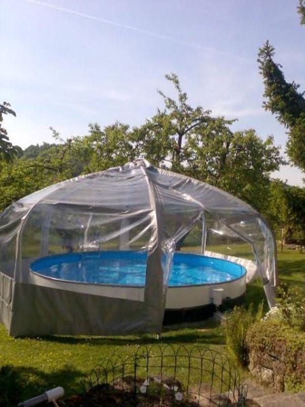 Pool mit Pavillon » Sonstiges für den Garten, Balkon, Terrasse