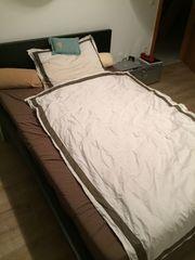 komplettes Schlafzimmer IKEA Bett 140x200