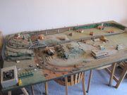 Eisenbahnanlage Minitrix Trix