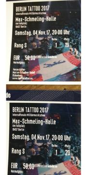 Tickets * BERLIN TATTOO