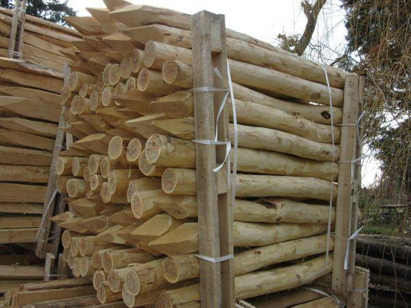 Zaunpfosten Weidezaunpfahl Zaun Pfosten Pfahl Aus Robinienholz