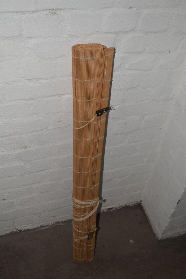 rollo aus bambus beautiful rollo aus bambus sonderfarbe gold ca x cm gebraucht kaufen with. Black Bedroom Furniture Sets. Home Design Ideas