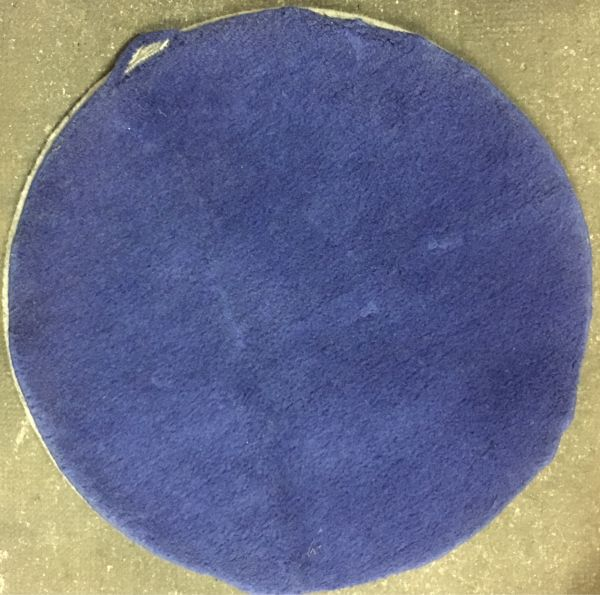 Ikea Runder Teppich Ringum Wolle Blau Lila In Heidelberg Teppiche