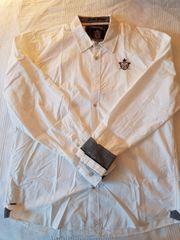 Weißes Camp David Hemd
