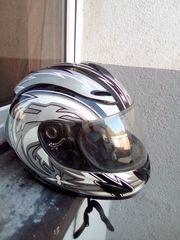 Motorrad Helm Gr 59-60