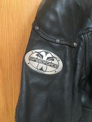 Bikerjacke -Leder