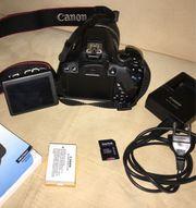 Canon EOS 650D - wenig genutzt